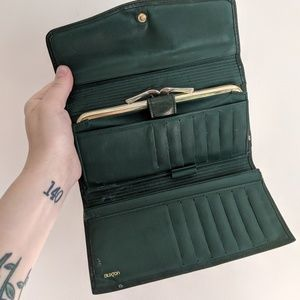 Vintage | Emerald Green | Velvet Cowhide